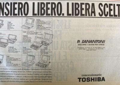 Pubblicità Zanantoni Anni '90