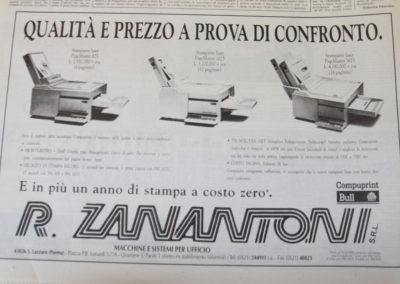 Pubblicità Anni '80